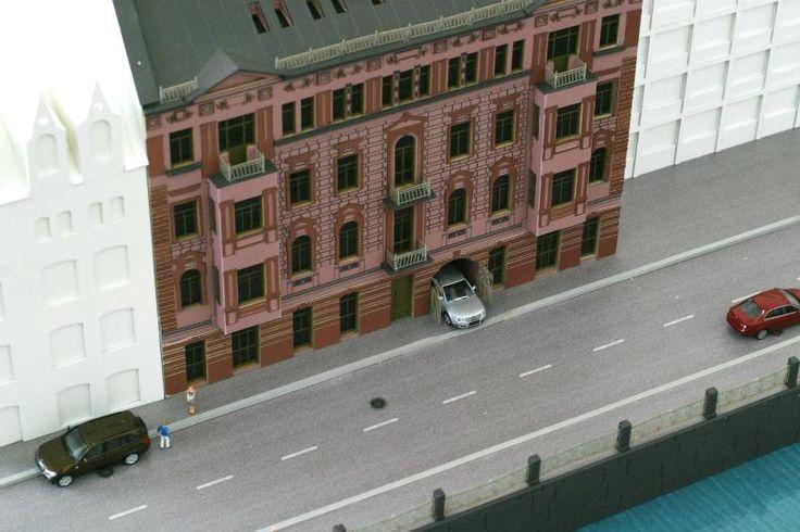 "The architectural model of the residential complex ""New Holland""Архитектурный макет жилого комплекса ""Новая Голландия"""