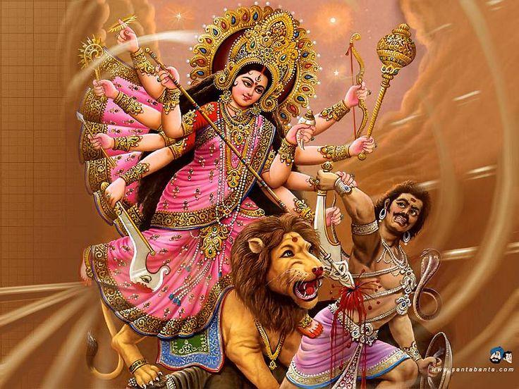 durga , hindu god
