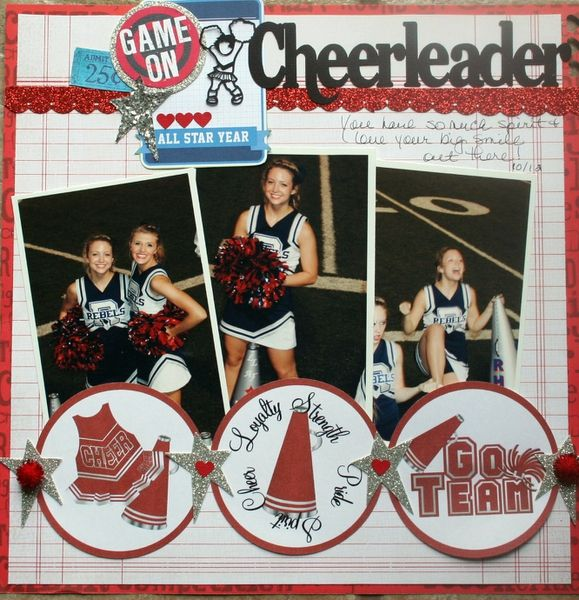 """Game On! """"Cheerleader"""" - Two Peas in a Bucket"""