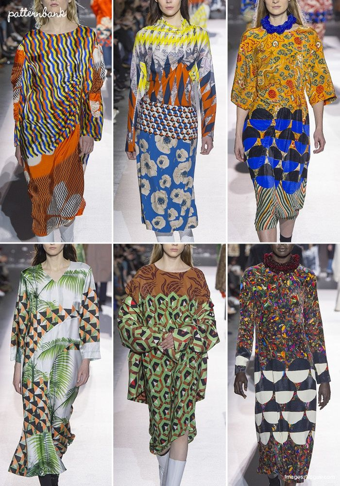 Dries Van Noten – Fall 2017 – RTW – Paris Fashion Week – Print & Pattern Highlight | Patternbank