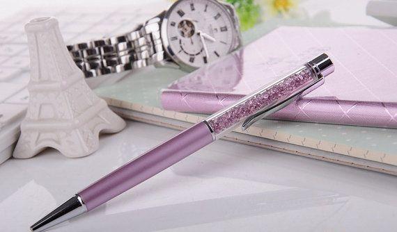 Swarovski Crystal Pen Ballpoint Pen New by LesleysCrystalPlace
