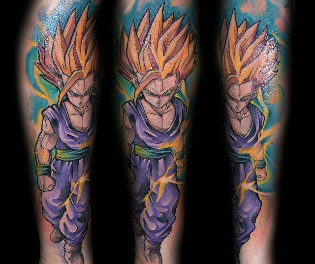 Gohan Tattoo Designs Teen Gohan Tattoo. | T...