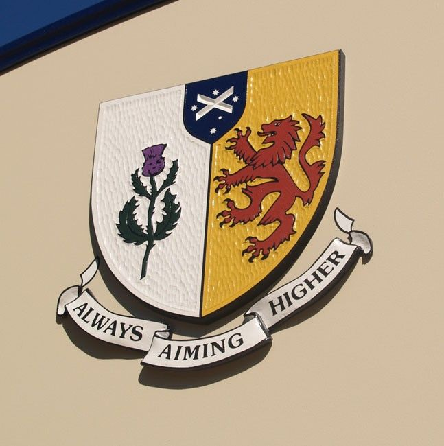 The Scots College School Crest / Danthonia Designs