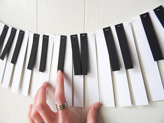 Party band Piano Garland Libro Musica Garland da ElisabethNicole
