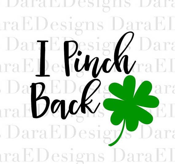 30+ St Patricks Day Silhouette Clipart Black And White