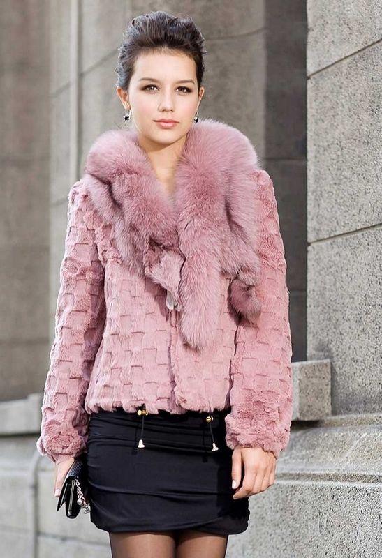 Hot Pink Faux Fur Coat