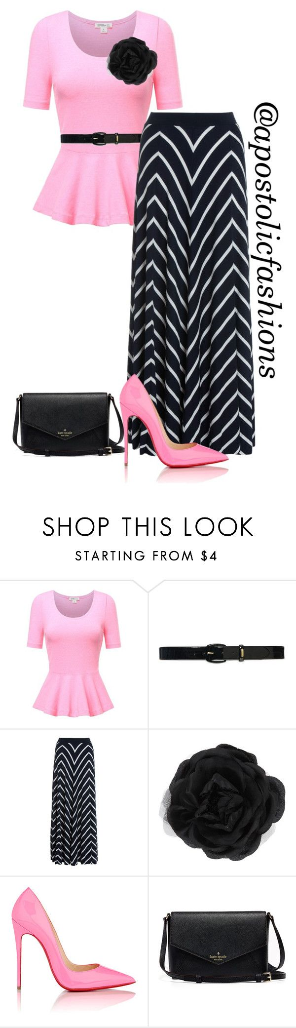 Apostolic Fashions #1242 by apostolicfashions on Polyvore featuring Monsoon, Christian Louboutin, Accessorize and Lauren Ralph Lauren