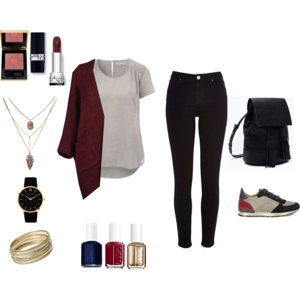 Casual Look - Light and Black