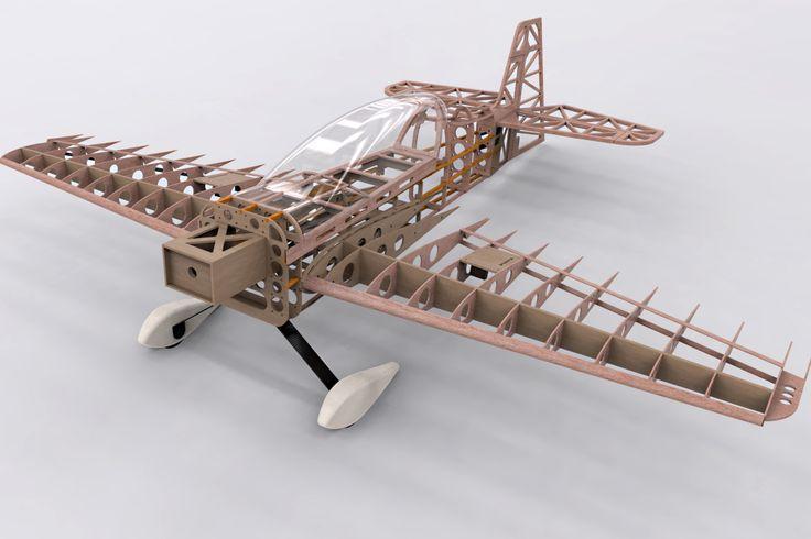 Avión acrobático aeromodelismo 2