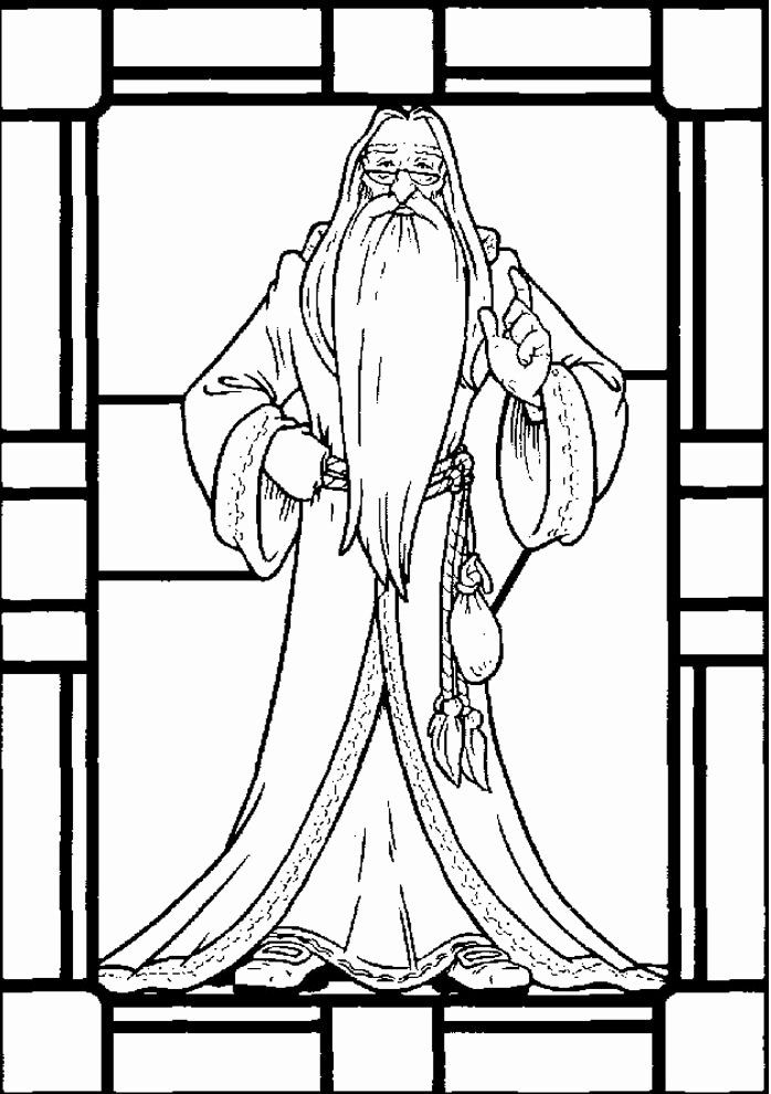 Harry Potter Coloring Page Fresh Dumbledore Harry Potters