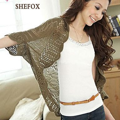 Women's+Casual+Stretchy+Thin+Shrug+(Knitwear)+SF7C06+–+USD+$+10.66
