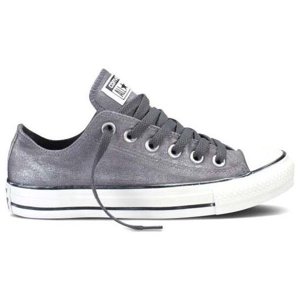 Converse Women's Chuck Taylor All Star Sparkle Athletic Shoes (180 PLN) found on Polyvore featuring shoes, admiral, converse footwear, laced up shoes, converse shoes, lace up shoes and laced shoes