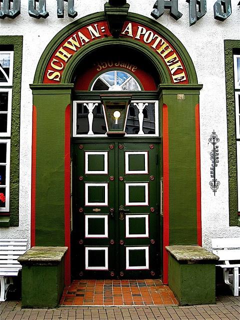 Lovely Door Husumer Apothekentür