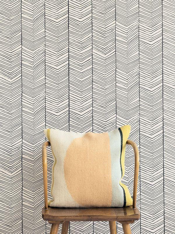 Herringbone Wallpaper 2
