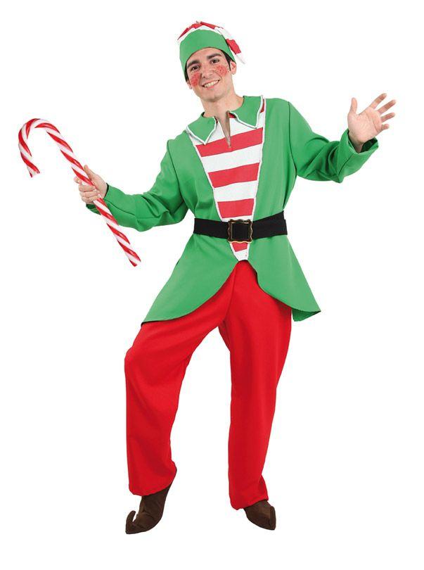 disfraz elfo de la navidad