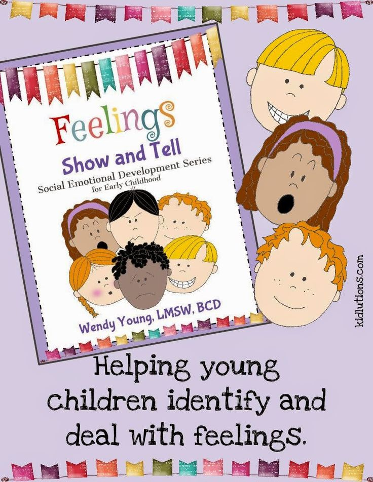 Feelings show and tell social skills understanding emotions