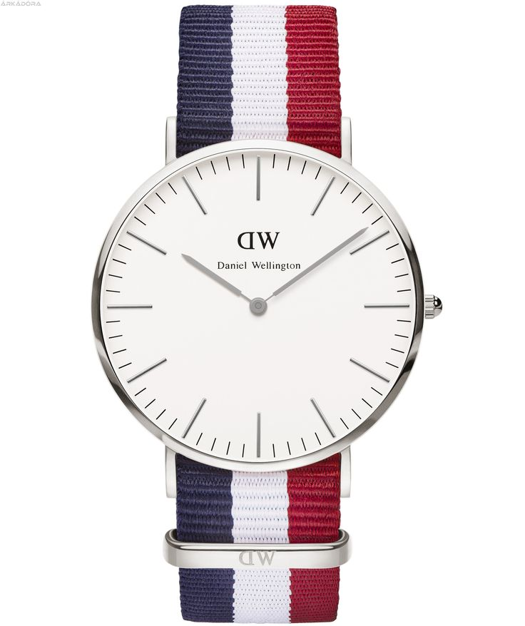 DANIEL WELLINGTON Classic Cambridge Silver