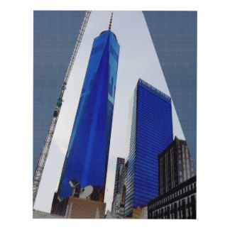 Paintings Reproduction Choose a size Freedom Tower Wood Wall Art