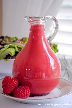 Red Raspberry Salad Dressing