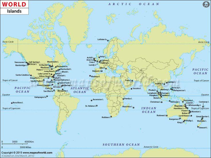 World Islands David Pinterest