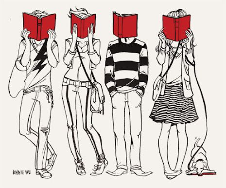 Annie WuBooks, Book Lovers, Reading, Art, Totes Bags, Red Book, Phrases, Bags Design, Annie Wu