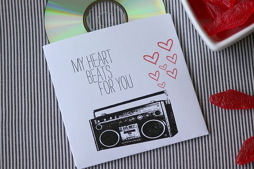 My Heart Beats for You: Free Mix CD Printable