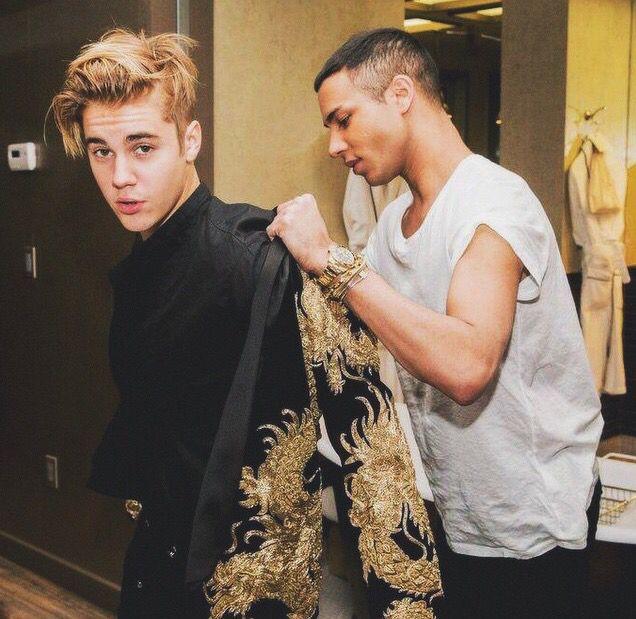 My king Justin Bieber met gala 2015