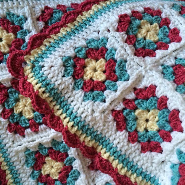 Excelente Bernat Patrones De Hilo Crochet Imagen - Manta de Tejer ...