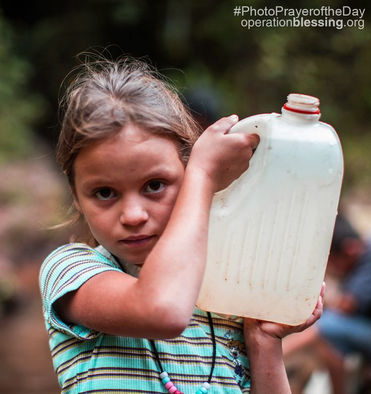 """Access to safe water is a fundamental human need and therefore a basic human right."" – Kofi Annan. Pray for safe water to be made available around the world.     #PhotoPrayerOfTheDay #Honduras"