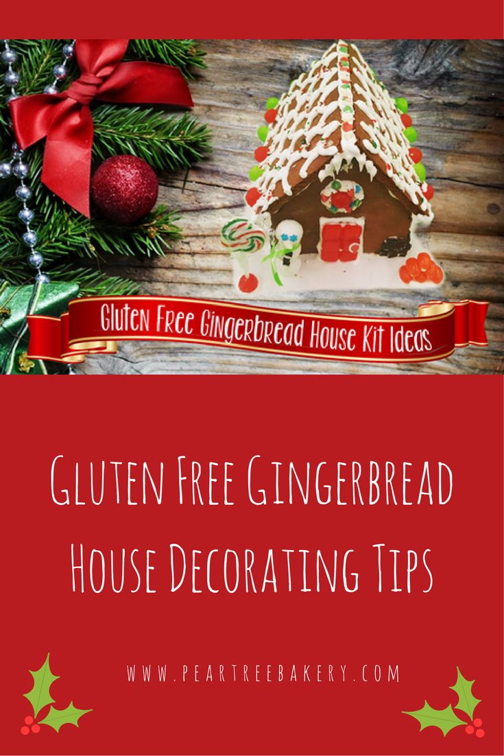 Find some gluten free gingerbread house decorating tips over on our bakin' bits blog!   www.peartreebakery.com   Peartree Bakery   Thunder Bay
