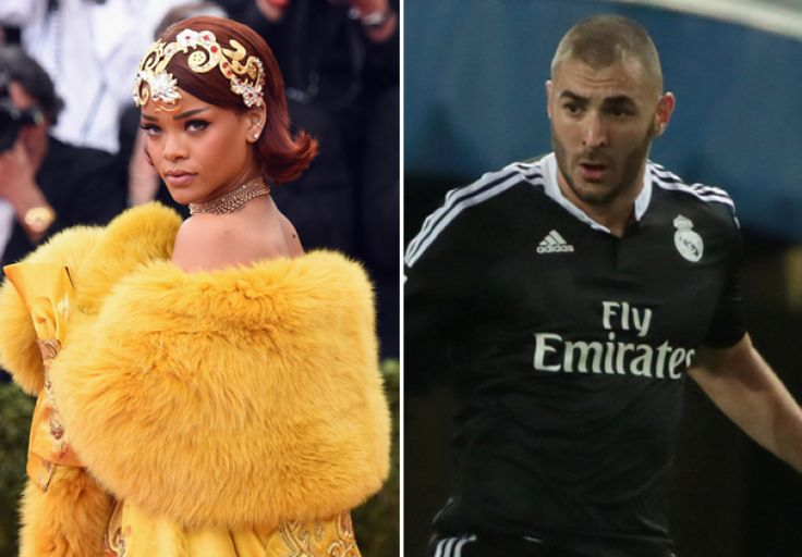 #fashionfactory Is Rihanna Dating Soccer Hunk Karim Benzema? Is there a new man in Rihanna's life? That's what TMZ is suggesting after everyone's favorite good girl gone bad was spotted out and about at 5 a.m. today, June 2, alongside Real Madrid soccer star Karim Benzema — who, to be completely frank, is super hot.