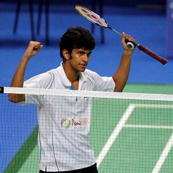 Indian shuttler Ajay Jayaram was in his elements as he overcame Rajiv Ouseph of England