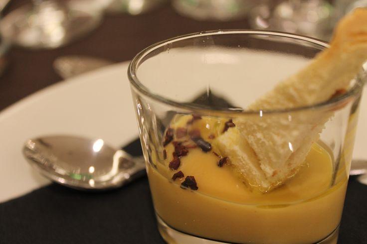 Declinazioni del cioccolato presso il ristorante Spirito Mediterraneo: entrée
