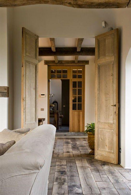 Lee Caroline - A World of Inspiration: Flemish Longhouse/Farmhouse - A Rustic, Contemporary Blend