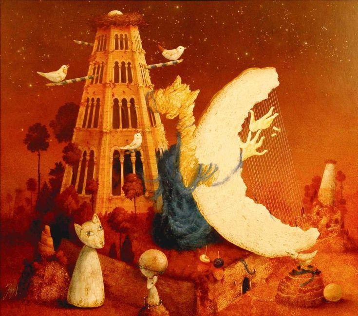 Janda Zdenek  Moon / Měsíc