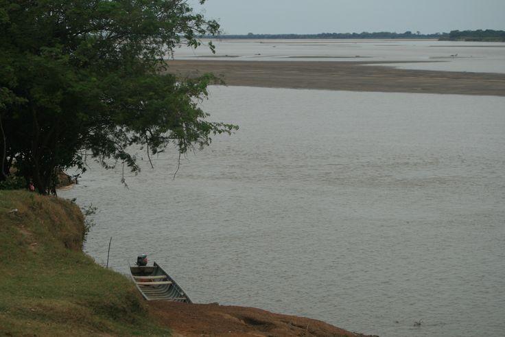 Río Meta. La Venturosa, Vichada. Colombia