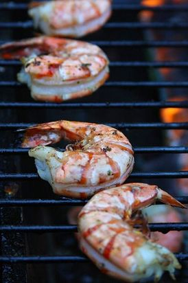 Margarita grilled shrimp - WW recipe
