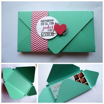 #Schokolade #Verpackung #Wimpeleien