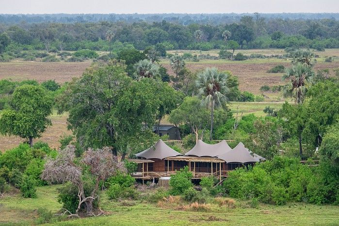 """Newly rebuilt Mombo Camp is now in its fourth generation since we took over management of the concession in 1991. As Dana says after his recent safari, the game is """"intense with non-stop action""""! So it's safe to say nothing's changed on the wildlife front, then..."""