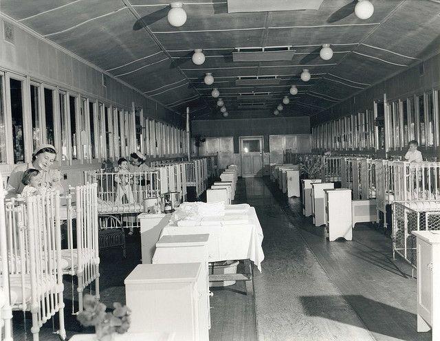 Childrens' Ward Hospital, Bonegilla Migrant Camp 1947