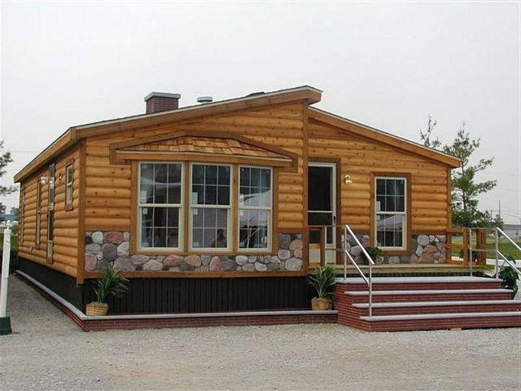 1000 Ideas About Log Cabin Modular Homes On Pinterest
