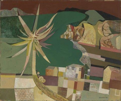 Cornish Landscape, 1946 by John Minton (English 1917-1957)