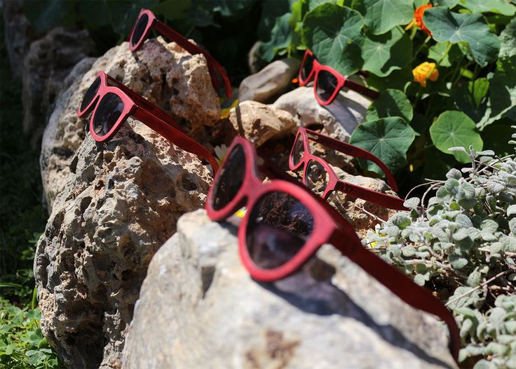 Our Easter Sunglass Hunt with Double O Sunglasses! The best red gift for your holidays... www.etsy.com/shop/DoubleOwoodcrafts |  www.doubleosunglasses.com