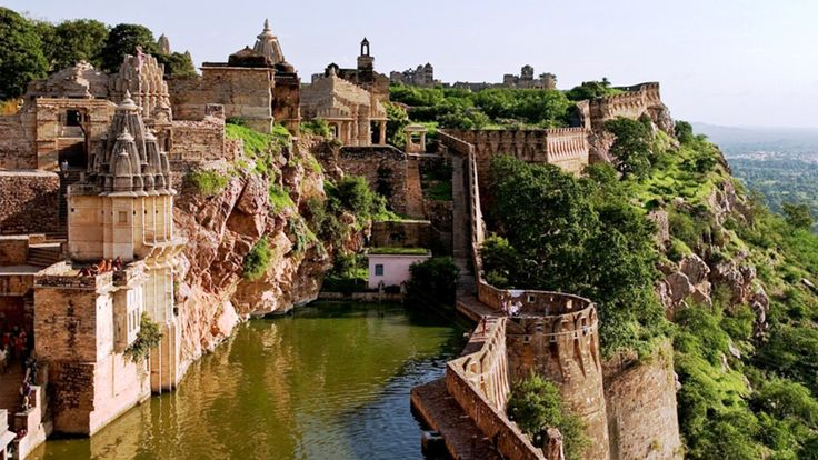 Chittorgarh Fort Pond India