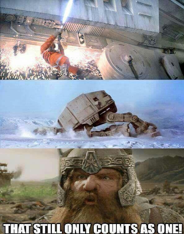 Star Wars meets LotR