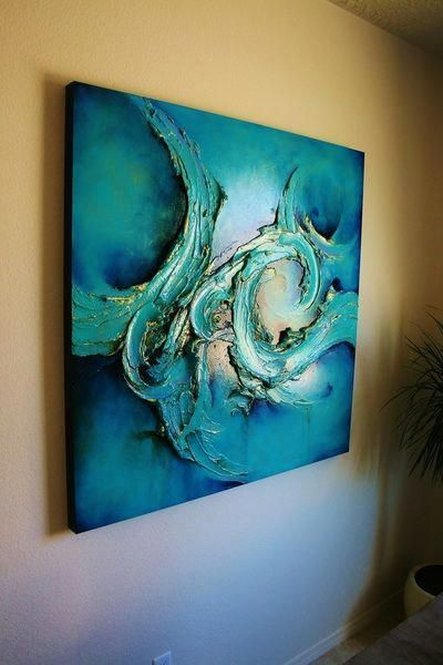 Bunte Malerei Reihe Santa Fe Große Abstrakte Von Cody Hooper Es 39 Abstractartists