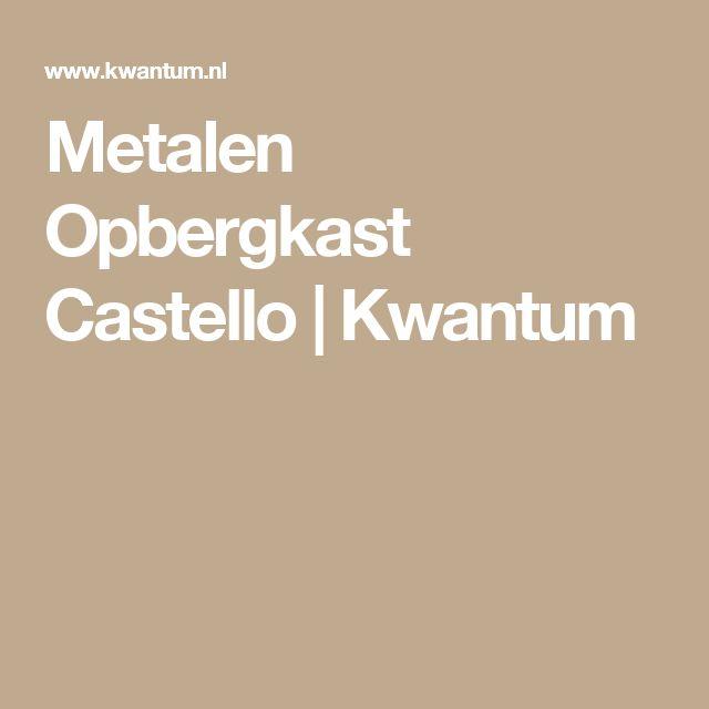 Metalen Opbergkast Castello | Kwantum