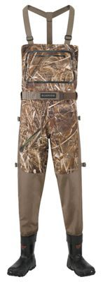 LaCrosse Alpha Swampfox Drop Top Insulated Boot-Foot Chest Waders for Men - Realtree Max-5 -7M