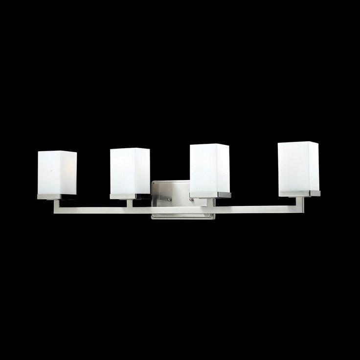 Lowes - Z-Lite 190 4 Light Tidal Bathroom Light, $180