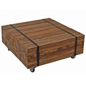 Ozzy salontafel teak hout € 179,=